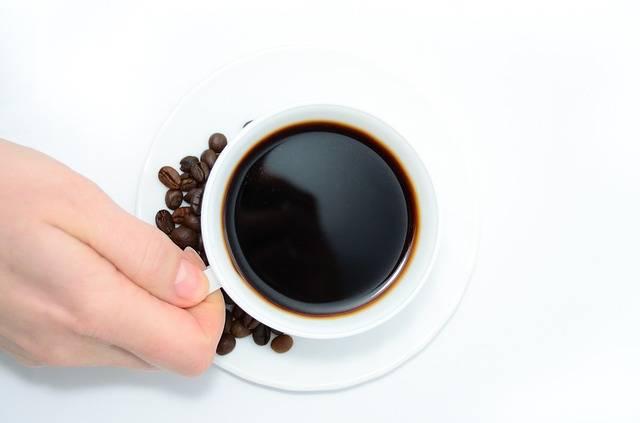 Heißer Kaffee Nervt