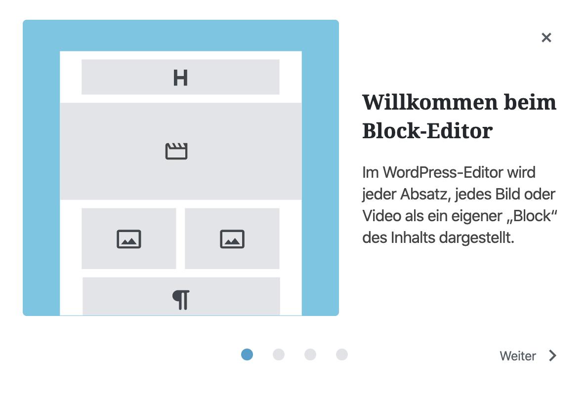 A New Design For Gutenberg / WordPress